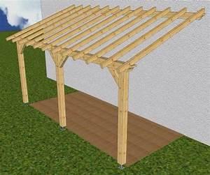 les techniques pour les charpentes en bois reussir une With construire auvent de terrasse en bois