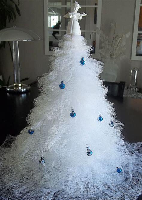 steps  making  christmas tree   tulle ebay