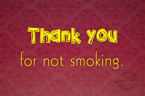 anti smoking slogans page
