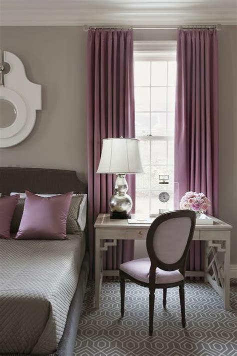 une chambre à la cagne 1001 idées pour la décoration d 39 une chambre gris et violet