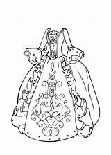 Poodle Skirt Drawing Coloring Pages Printable Barbie Getdrawings sketch template