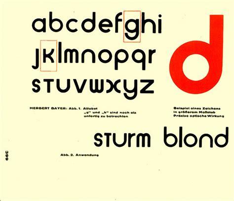 bauhaus graphic design and typography
