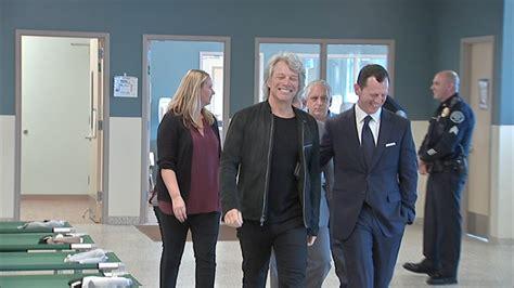 Jon Bon Jovi Visits Camden Shelter World Homeless Day