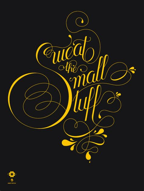 inspirational showcase of amazing typography designs