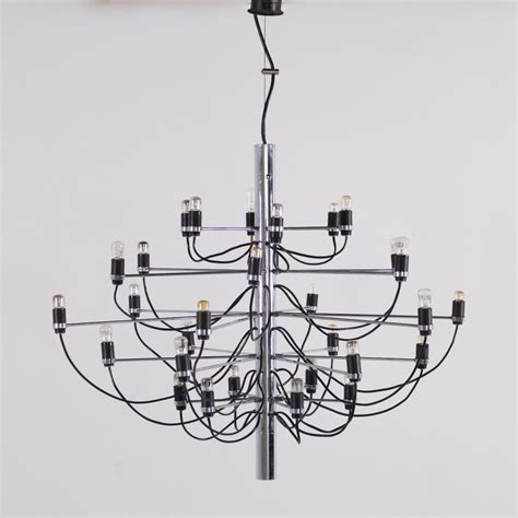 gino sarfatti chandelier model 2097 30 chandelier by gino sarfatti for oluce 94642