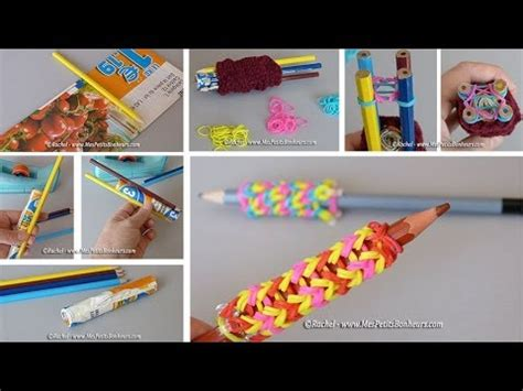 elastique pour bracelet tricotin pour 233 lastiques rainbow loom fabrication et mode d emploi