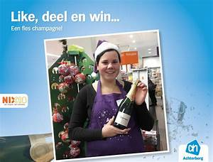 Like, deel en win… Een fles champagne!