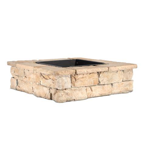 low price lowes brick pit kit garden landscape