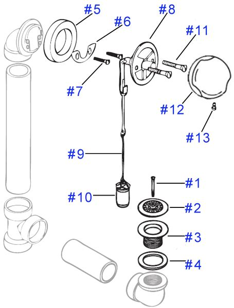 bathtub drain assembly diagram welcome to memespp