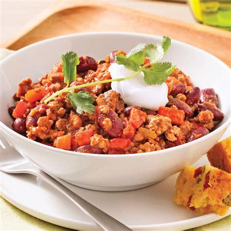 cuisine recettes pratiques chili classique recettes cuisine et nutrition