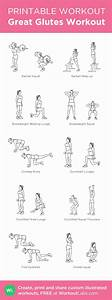 Great Glutes Workout | Fit | Pinterest | Glutes, Glute ...