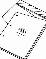 Script Pages Coloring Template Screenplay Happy sketch template