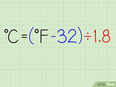 How to Convert Celsius (°C) to Fahrenheit (°F): 6 Steps