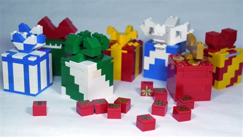 how to build a lego gift box present custom lego