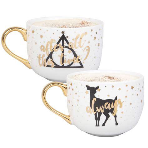 Harry potter character mug paladone ceramic mugs coffee cup gift box brand new. Amazon.com: Harry Potter Latte Coffee Mug Set - After All ...
