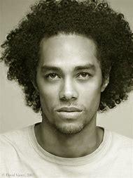 African American Men Curly Hair