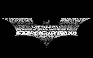 Top 50 Batman Quotes. QuotesGram