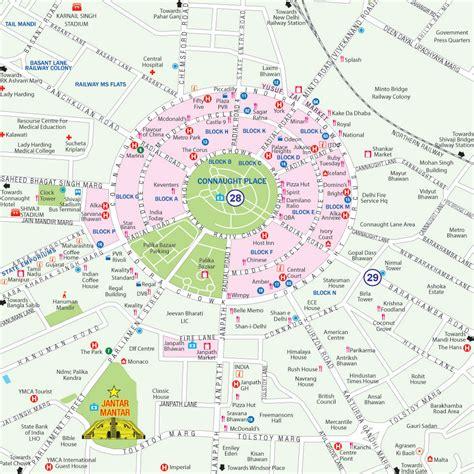 metro bureau maps of delhi