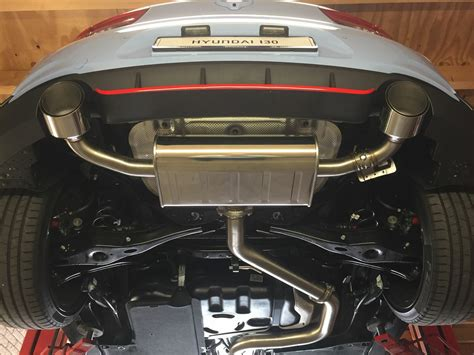 Maybe you would like to learn more about one of these? Hyundai I30n Cat back Exhaust
