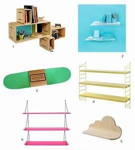 Etagere Chambre Enfant : une etagere pour la chambre little ~ Teatrodelosmanantiales.com Idées de Décoration