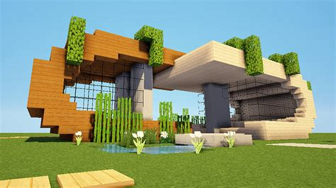 Minecraft Tuto Maison Moderne ! Youtube
