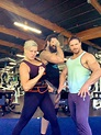 John Morrison And His Wife Taya Valkeri and Luchasaurus ...