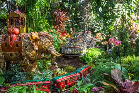 new york botanical garden new york see a miniature empire state building at this year s ny