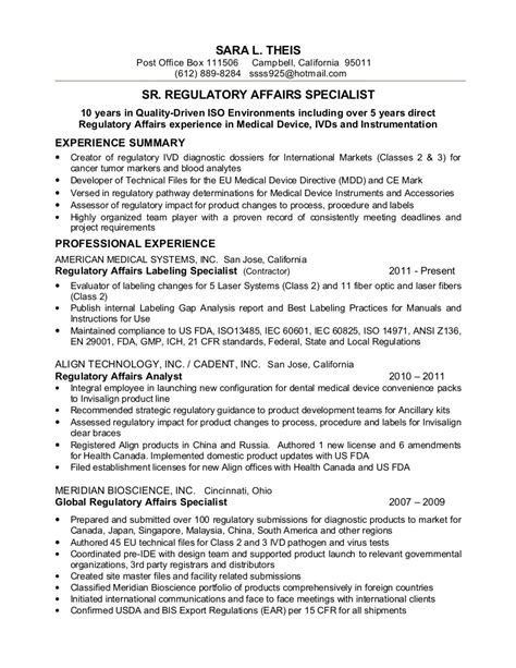 Resume S Theis Sr Reg Affairs Spec. Resume Format For Admin Jobs. Sales Position Resume Samples. Resume Download Template. Payroll Administrator Resume. Resume Examples For Jobs. Resume Contact Information. Resume Template Latex. Internal Promotion Resume Sample