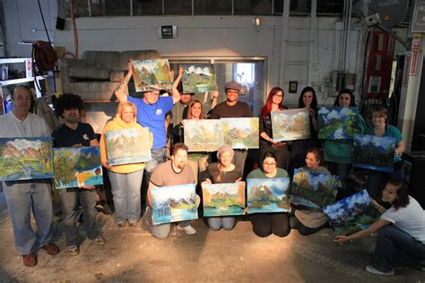 Bob Ross Painting Classes. The Surprisingly Mysterious
