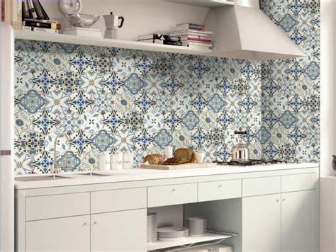 portuguese tiles kitchen 20cmx5m portuguese floor tile stickers blue geometry 1617