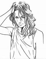 Drawing Drawings Sick Bing Sad Coloring Draw Adult Grass sketch template