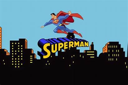 Superman Cartoon Wallpapers Comic Desktop Pantalla S6