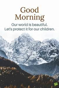 Fresh Inspirati... Morning Mountain Quotes