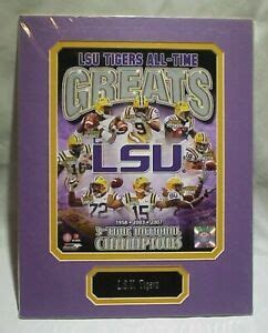 LSU Tigers All-Time Greats 3 Time Champs Matted Photo ...