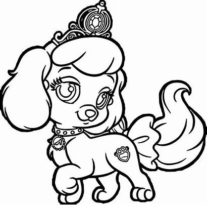 Coloring Pages Puppy Printable Sad Dog Getcolorings