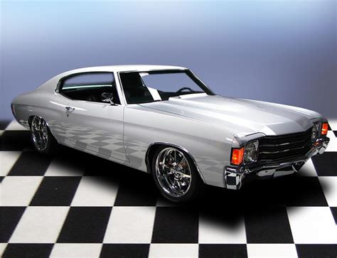 chevrolet chevelle  door pro touring coupe