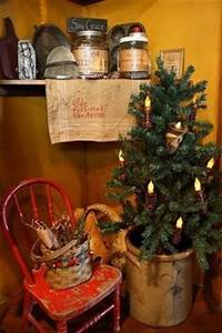 CHRISTMAS PRIMITIVE DECOR on Pinterest