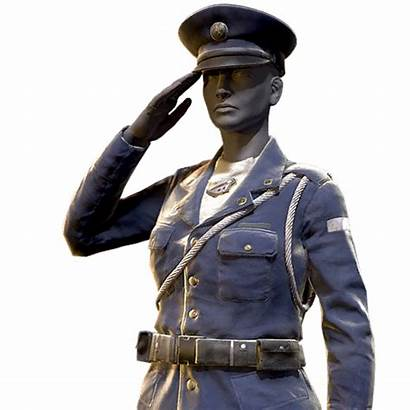 Uniform Military Officer Fallout 76 Outfit Atomic