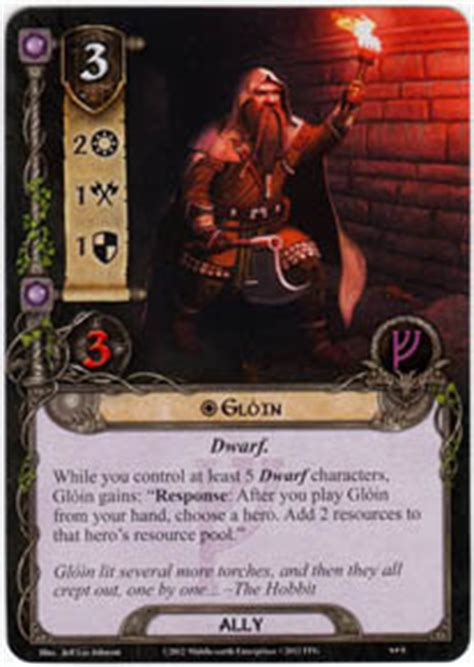 Lotr Lcg Deck Lists by Gloin On The Doorstep Lord Of The Rings Lcg Lord Of