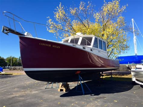 Lobster Boat Engines by Downeast Big Water Boat Broker Boats For Sale