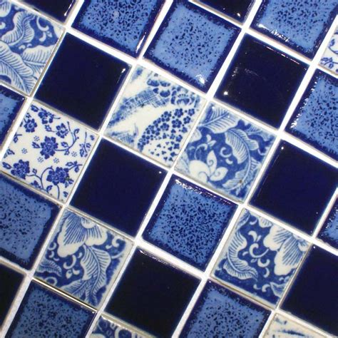 blue mosaic tile blue mosaic bathroom tiles bathroom design ideas
