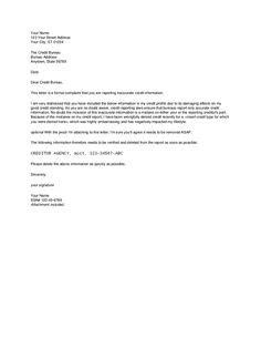 sle credit dispute letter credit report dispute letter template credit repair