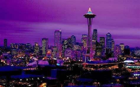 City Lights At Night Wallpaper