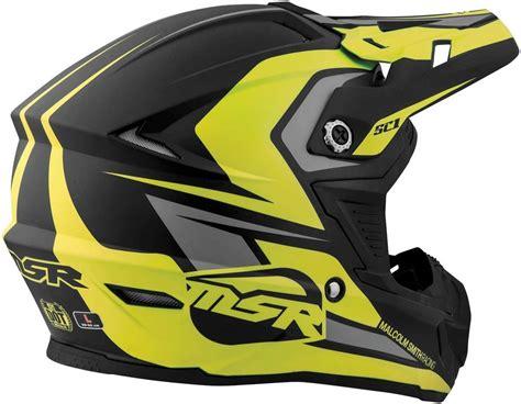 9.95 Msr Sc1 Score Motocross Mx Riding Helmet #998025