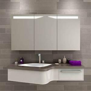 Bad Spiegelschrank Beleuchtet : belfast bad spiegelschrank beleuchtet auf unterputz online kaufen ~ Frokenaadalensverden.com Haus und Dekorationen