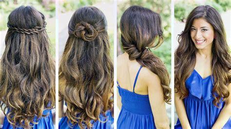 easy hairstyles  long hair  wardrobes
