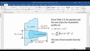 Comsol Conduction Heat Transfer Example 3 U201312 Heat Transfer