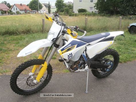 Husqvarna Fe 350 Photo by 2015 Husqvarna Fe 350 Vorf 252 Hrmotorrad With Special Equipment