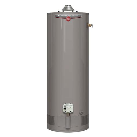 Rheem Performance Plus 40 Gal Tall 9 Year 40,000 Btu High