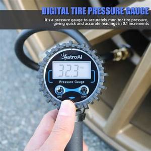 Astroai Digital Tire Inflator With Pressure Gauge  250 Psi